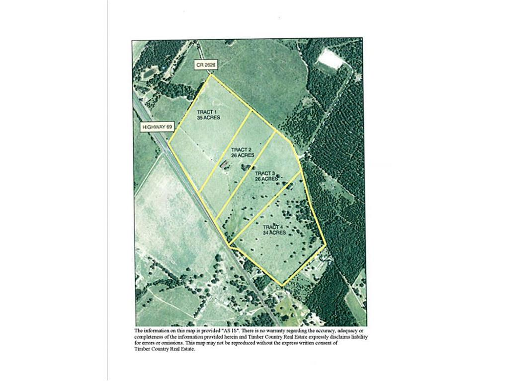 Tract 3 HWY 69, Wells, TX 75976