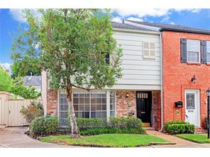 Houston Home at 6486 Burgoyne Road 46 Houston , TX , 77057-4006 For Sale