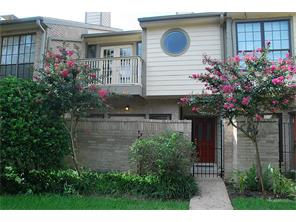 Houston Home at 720 Country Place Drive G Houston                           , TX                           , 77079-5585 For Sale