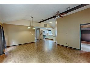 Open floor plan offers great use of space.