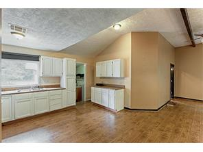 Plenty of natural light, storage and prep space in the kitchen.