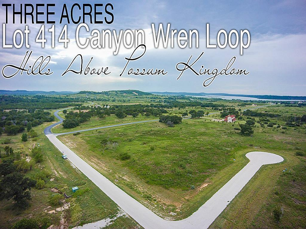 Lot 414 Canyon Wren Loop, Graford, TX 76449