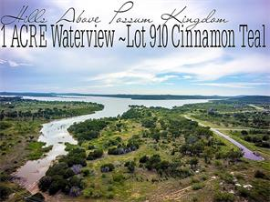 Houston Home at Lot 910 Cinnamon Teal Graford , TX , 76449 For Sale