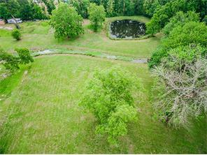 Lot includes fish pond. There are no restrictions in this community. Great for building or having animals.