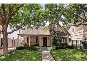 Houston Home at 1806 McDuffie Street Houston                           , TX                           , 77019-5729 For Sale