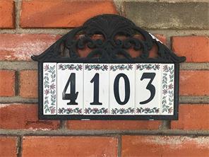 Houston Home at 4103 Norfolk Street Houston                           , TX                           , 77027-6827 For Sale