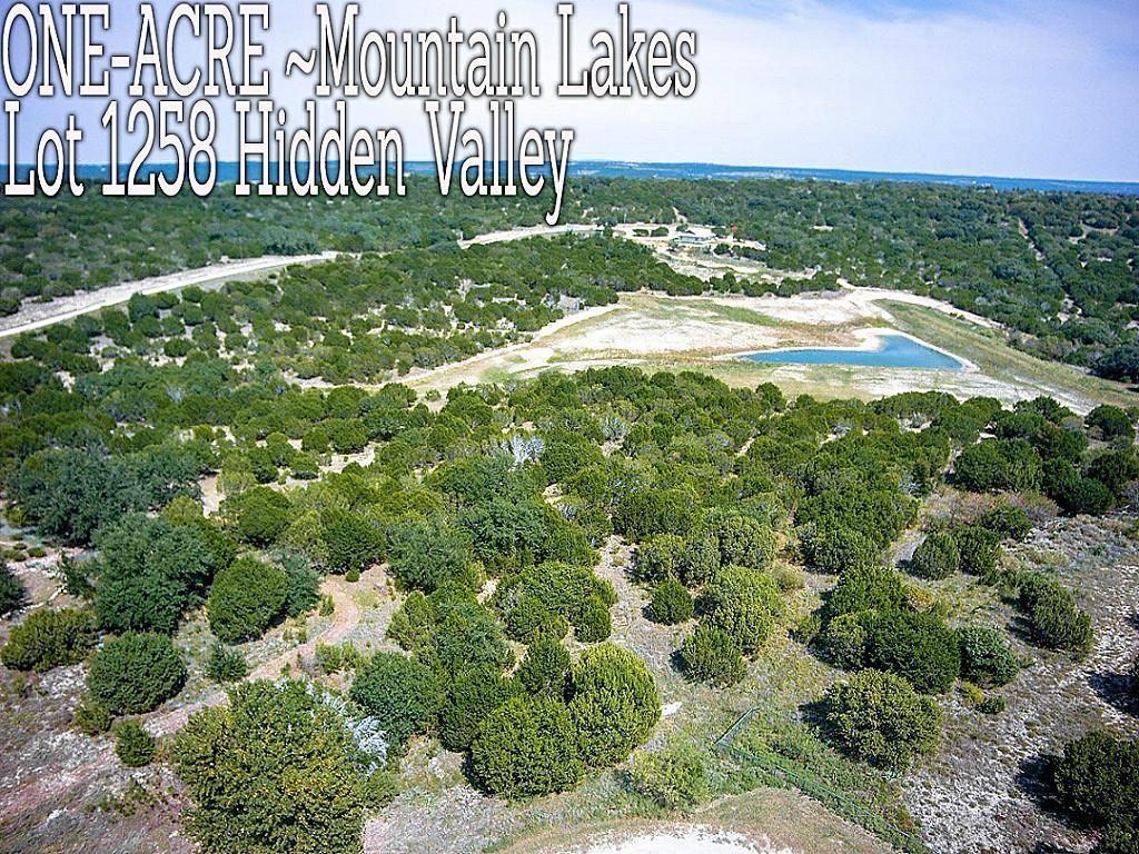 Lt 1258 Hidden Valley, Bluff Dale, TX 76433