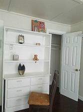 2nd Bedroom with Built-ins