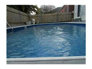 Beautiful built in pool with new pool lines