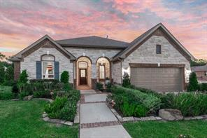 Houston Home at 18019 Hampton Hills Drive Humble , TX , 77338 For Sale