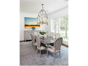 Formal dining room of another recent construction by Cupic Custom Homes - selections for Landon Ln are still available to be made.