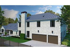 Rear rendering of 11014 Landon Ln.