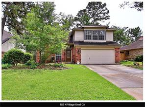 Houston Home at 182 Village Knoll Circle The Woodlands                           , TX                           , 77381-4455 For Sale