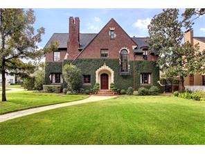 Classic Tudor in River Oaks Country Club Estates.  Charles A. Dieman architect, with homes listed on the National Register of Historic Places.