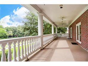 2nd Floor Covered Balcony Overlooking Golf Course