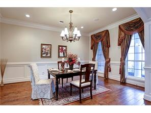 Crown Molding and Wood Floors