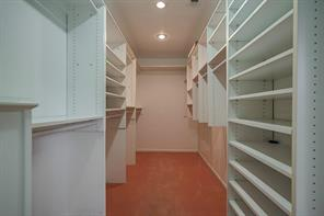 1 of 2 closets in the master. Lots of built ins.