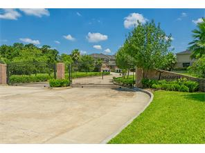 Beautifully landscaped and gated