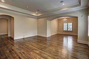 The secluded sitting room is located right off of the master bedroom- 12x9