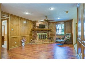 This family room with fireplace is the same on both sides. This is side #1