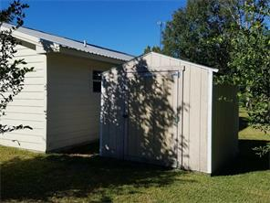 Have a look at the other storage shed. This one can be found behind the house, facing the workshop parking area.