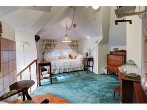 BEDROOM 3 ON 3RD FLOOR OF HOUSE - a quiet retreat, ceiling fan with light, carpeting