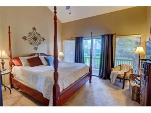 Master Bedroom  has a private balcony!  Great place to enjoy any time of the day!