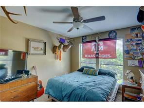 This secondary bedroom has lots of light!  Great guest room or nursery.