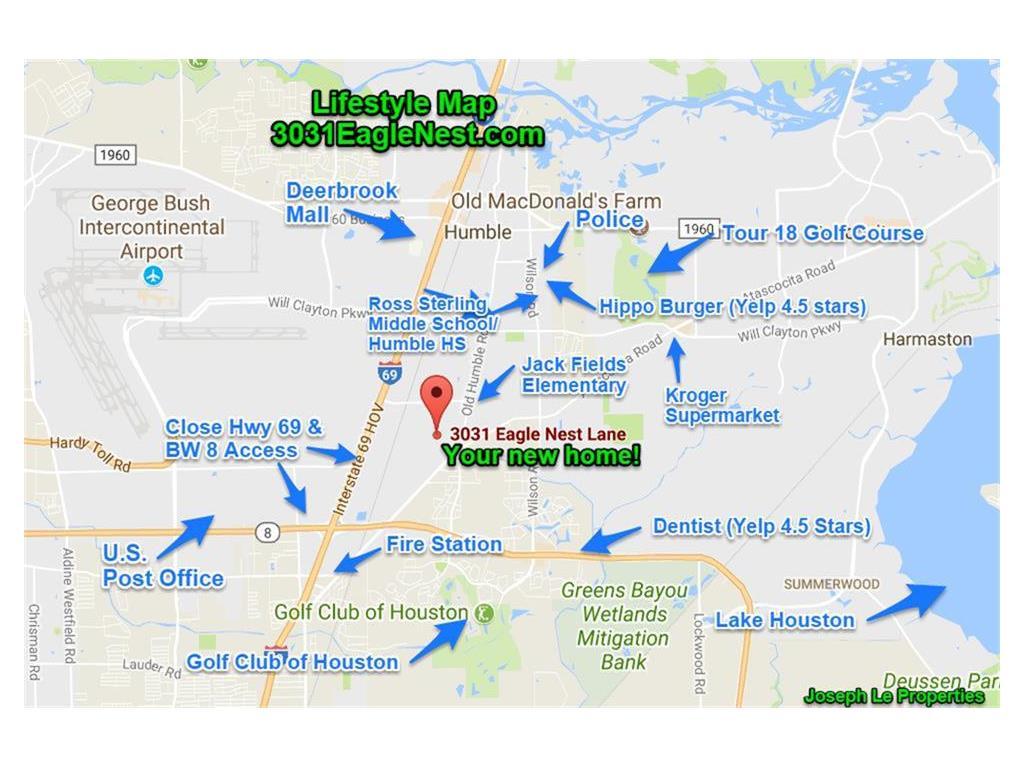 3031 Eagle Nest Lane, Humble TX 77396