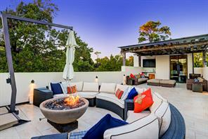 Contemporary and Modern meet Old World in every aspect of this home.  Enjoy many nights of outdoor entertaining on this Third Floor Roof Top Terrace.