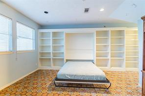 Murphy Bed Conveniently Appears When Needed and Tucks Away When the Extra Space is Desired.