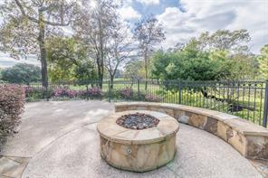 What A View!!! Sit out By Your Gas Fire Pit and Look at This Beautiful View of Conroe Country Club Golf Course.