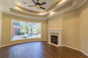 "Think this View is Amazing??  Just Wait...The Living Area is Complete with Ceramic ""Wood"" Tile and Fire Place."