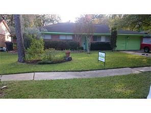 Houston Home at 6007 Dawnridge Drive Houston , TX , 77035-4121 For Sale