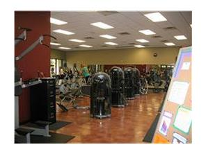 Walden exercise room.