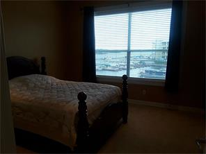 Master bedroom view is of Lake Conroe.