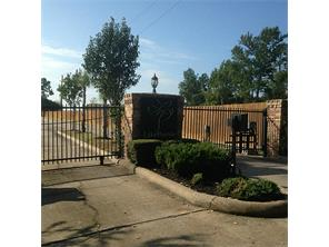 The gated entry to Lake Pointe,  Quiet and secure.