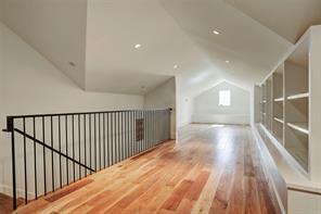 The enormous third floor open space (41'x11') has a multitude of possibilities, it could be used as a GAME ROOM, MEDIA ROOM or the FIFTH BEDROOM with a full bathroom plus a bar area with beverage chiller and dishwasher!