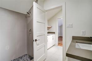 Third floor FULL BATH with walk-in shower.
