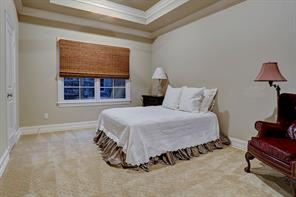 Each secondary bedroom is very spacious with good natural light, plush carpeting, and recessed lights. All windows throughout the home have double pane, operable windows that can be opened from the inside and cleaned.