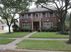 Houston Home at 17502 Hollyberry Lane Sugar Land                           , TX                           , 77479-3093 For Sale