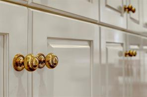 [Detail]Close-up of hardware in the kitchen.