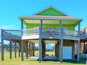 Houston Home at 877 Palmetto Drive Crystal Beach , TX , 77650 For Sale
