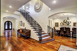 The STAIRCASE leads upstairs.