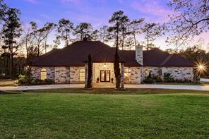 Stunning lake front custom home by Silver Leaf Luxury Homes in Montgomery Trace.