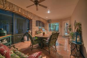 Just steps from the kitchen and living areas, the patio is just an outdoor extension of all the interior comforts!
