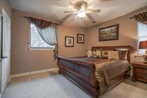 Guest bedroom upstairs is as large as a master!