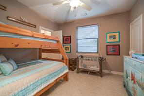 All of the secondary bedrooms are upstairs and receive great natural light!