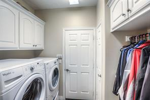 Yes, the laundry room is immaculate as well.