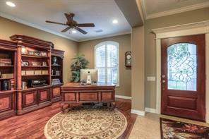 The formal dining room can also serve as a study or flex room.